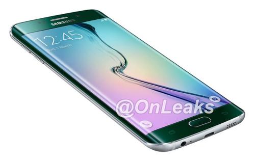 Mô hình Galaxy S6 edge Plus xuất hiện