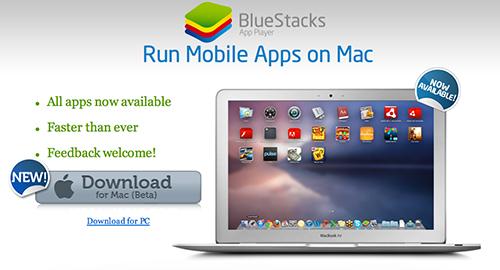 Ứng dụng giả lập Android chính thức có trên Mac OS X