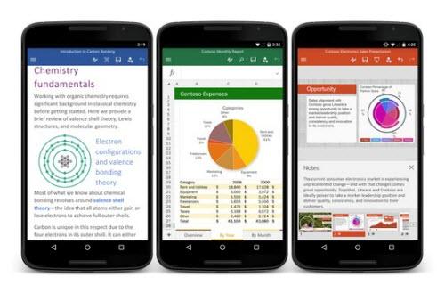 Microsoft phát hành Office cho Android