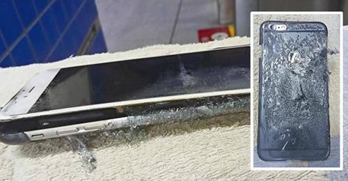 iPhone 6 Plus phát nổ khi sạc qua đêm