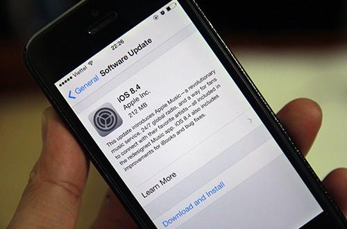 Apple phát hành iOS 8.4 với Apple Music