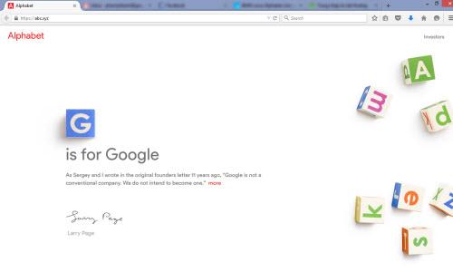 """Microsoft bày trò """"chơi đểu"""" tên miền abc.xyz của Google?"""