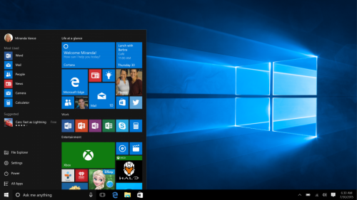 """Đã có 14 triệu thiết bị """"lên đời"""" Windows 10 sau 24 giờ"""