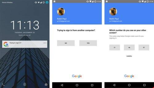 Đăng nhập Gmail không cần nhập password trên Android và iOS