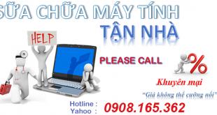 Dịch vụ sửa máy tính tại nhà quận Tân Bình - Gọi 0908.165.362
