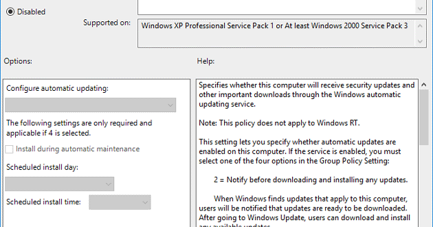 2 cách vô hiệu hóa tự động Update (cập nhật) trên Windows 10