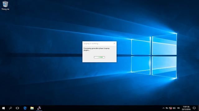 Sử dụng Sysprep kết hợp với tập tin trả lời để khái quát trình cài đặt Windows 10
