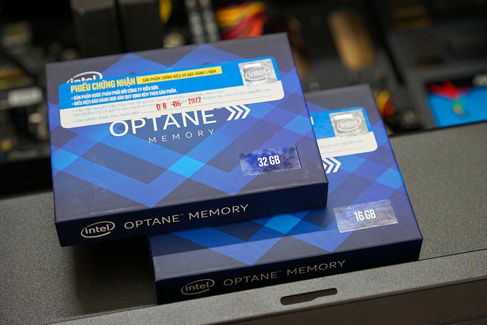 Optane là giải pháp bộ đệm dữ liệu mới dựa trên bộ nhớ flash 3DX Point của Intel.