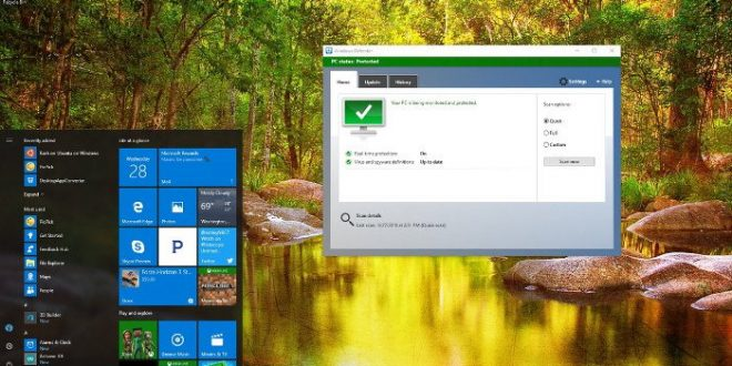 Tắt Windows Defender trên Windows 10