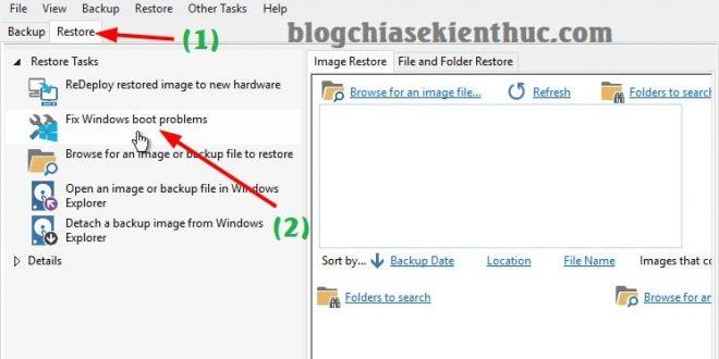 Cách Fix boot EFI, sửa lỗi do mất phân vùng EFI ( chuẩn UEFI )