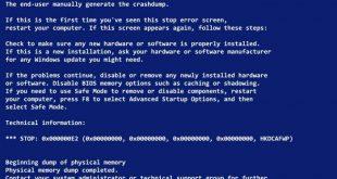 sửa máy tính bị màn hình xanh