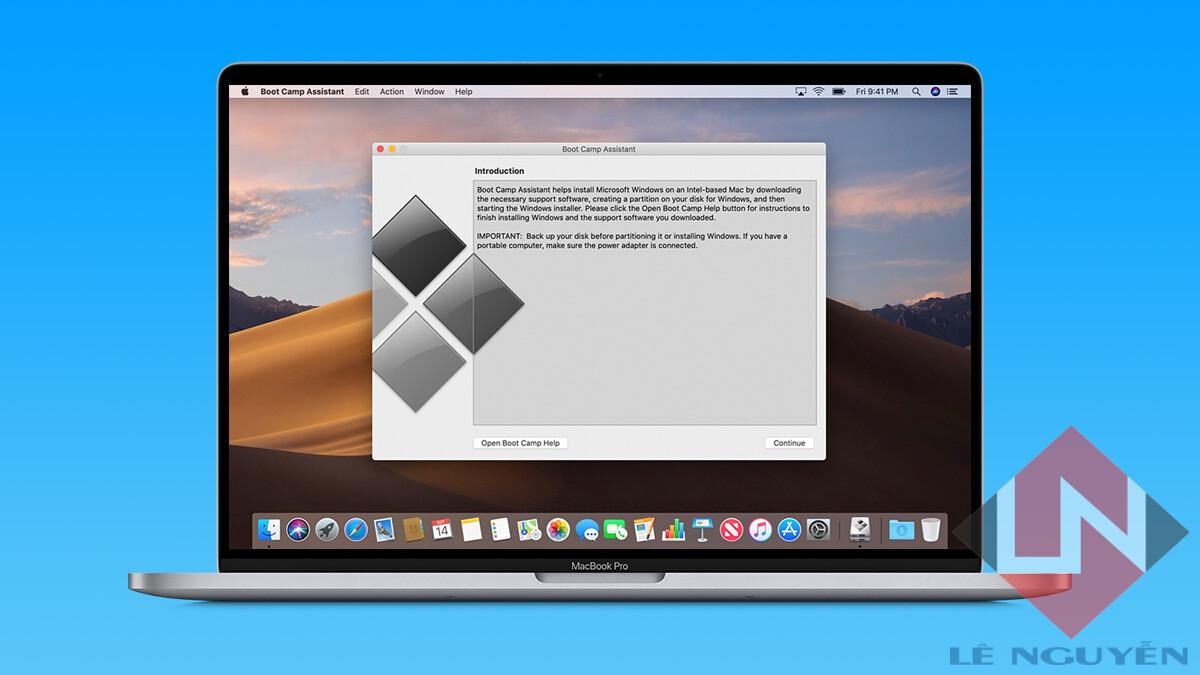 Cách cài win 10 cho Macbook mới nhất 2020