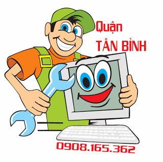 Sửa máy tính tại nhà quận Tân Bình