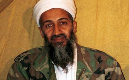 Trùm khủng bố Bin Laden. (Ảnh: