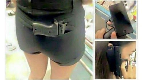Vỏ bảo vệ iPhone hình khẩu súng khiến cảnh sát lo ngại - 2