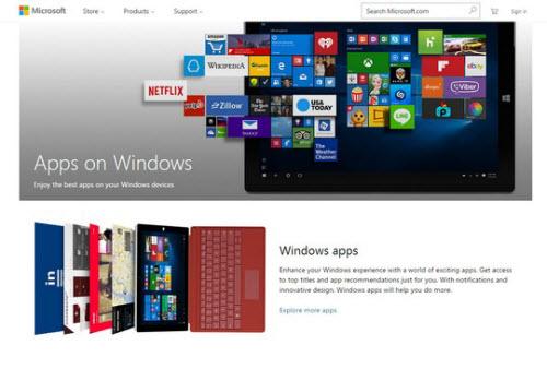 Microsoft gom kho ứng dụng Windows về một mối - 1