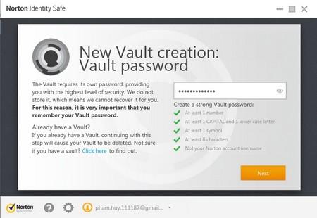 Norton Identify Safe: Công cụ quản lý mật khẩu đăng nhập hữu ích