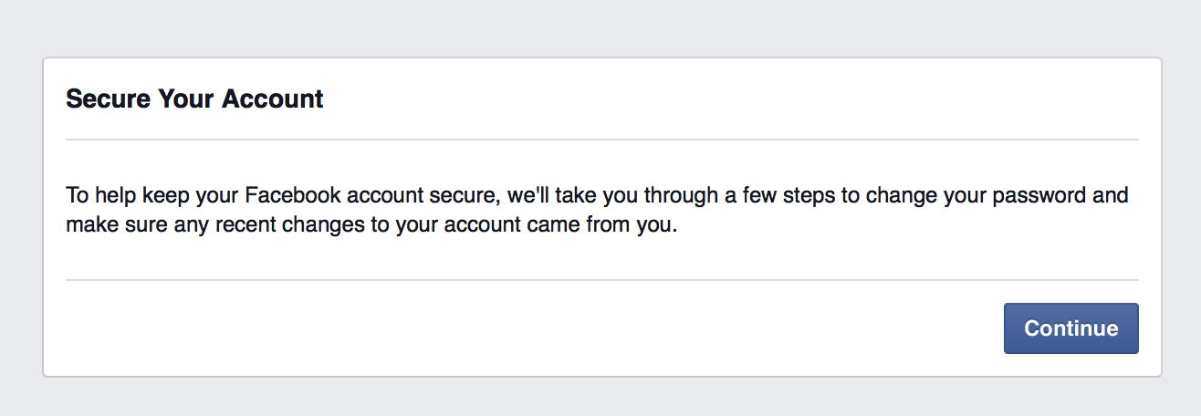 Sau khi đã nhập mã, Facebook sẽ tiến hành cho người dùng thiết lập lại mật khẩu