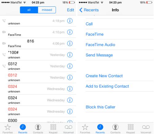 Cách chặn số điện thoại làm phiền trên iPhone - 1