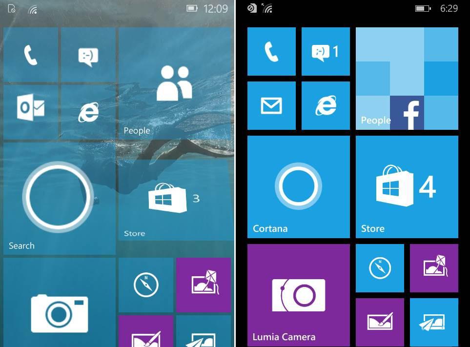 Điểm qua những khác biệt của Windows 10 so với Windows 8.1