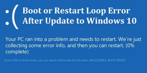 Windows 10 dính lỗi khởi động lại liên tục - 1