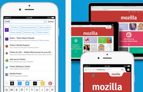 Trình duyệt Firefox đã có phiên bản dành cho iPhone - 1