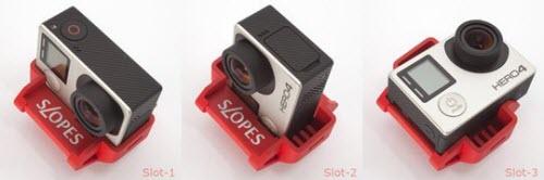 Chân đế 20 góc chụp cho GoPro - 1